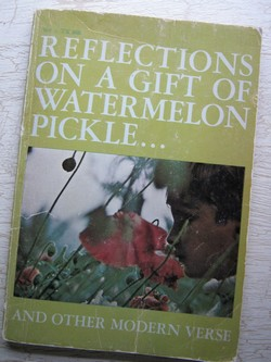 Reflections On A Gift Of Watermelon Pickle Matilda Magtree